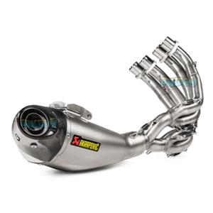 아크라포빅 레이싱 Exhaust 레이싱 라인(티타늄) 컴플리트 시스템 for 혼다 CBR 650 F (14-) -  베스파 오토바이 튜닝 머플러 AKRA650F