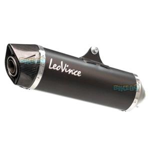 레오빈스 레이싱 Exhaust SBK 네로 슬립-온 for 피아지오 MP3 400-500ccm -  베스파 오토바이 튜닝 머플러 L14005
