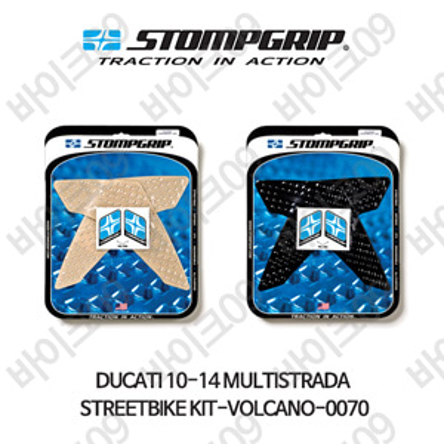 두카티 10-14 멀티스트라다 STREETBIKE KIT-VOLCANO-0070 스텀프 테크스팩 오토바이 니그립 패드