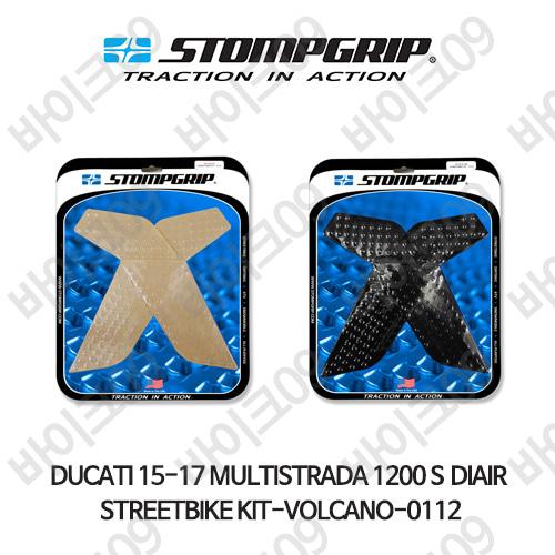 두카티 15-17 멀티스트라다 1200 S DIAIR STREETBIKE KIT-VOLCANO-0112 스텀프 테크스팩 오토바이 니그립 패드