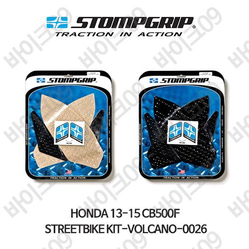 혼다 13-15 CB500F STREETBIKE KIT-VOLCANO-0026 스텀프 테크스팩 오토바이 니그립 패드