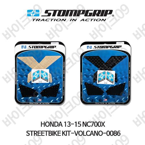 혼다 13-15 NC700X STREETBIKE KIT-VOLCANO-0086 스텀프 테크스팩 오토바이 니그립 패드