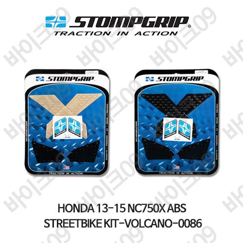 혼다 13-15 NC750X ABS STREETBIKE KIT-VOLCANO-0086 스텀프 테크스팩 오토바이 니그립 패드