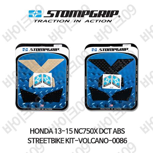 혼다 13-15 NC750X DCT ABS STREETBIKE KIT-VOLCANO-0086 스텀프 테크스팩 오토바이 니그립 패드