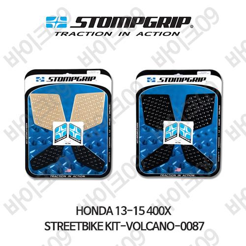 혼다 13-15 400X STREETBIKE KIT-VOLCANO-0087 스텀프 테크스팩 오토바이 니그립 패드