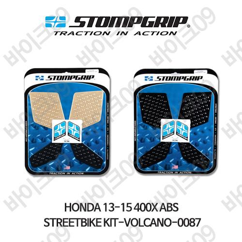 혼다 13-15 400X ABS STREETBIKE KIT-VOLCANO-0087 스텀프 테크스팩 오토바이 니그립 패드