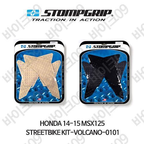 혼다 14-15 MSX125 STREETBIKE KIT-VOLCANO-0101 스텀프 테크스팩 오토바이 니그립 패드