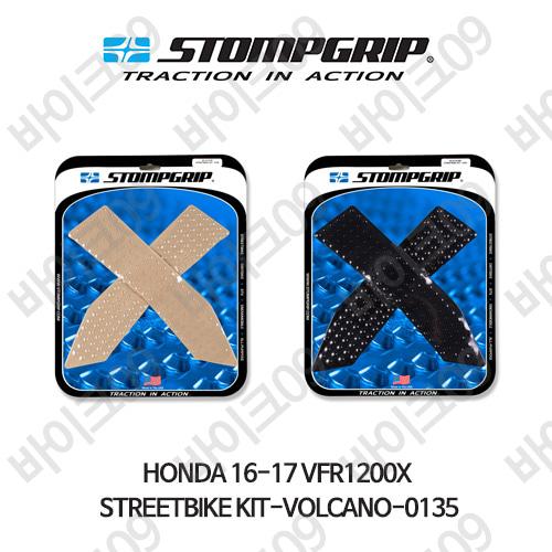 혼다 16-17 VFR1200X STREETBIKE KIT-VOLCANO-0135 스텀프 테크스팩 오토바이 니그립 패드