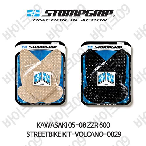 가와사키 05-08 ZZR 600 STREETBIKE KIT-VOLCANO-0029 스텀프 테크스팩 오토바이 니그립 패드