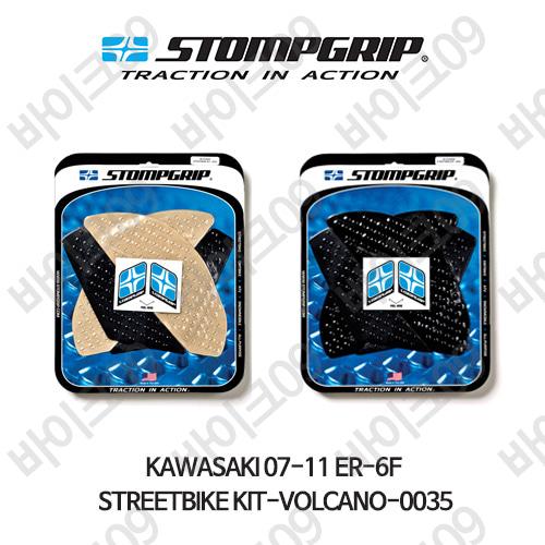 가와사키 07-11 ER-6F STREETBIKE KIT-VOLCANO-0035 스텀프 테크스팩 오토바이 니그립 패드