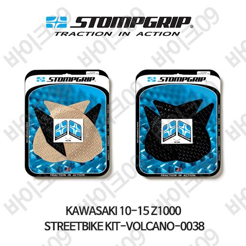 가와사키 10-15 Z1000 STREETBIKE KIT-VOLCANO-0038 스텀프 테크스팩 오토바이 니그립 패드