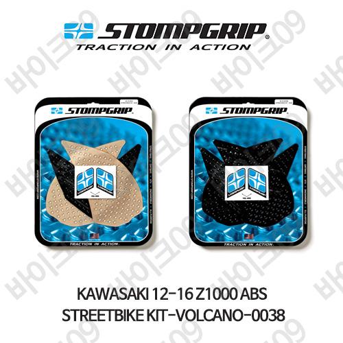 가와사키 12-16 Z1000 ABS STREETBIKE KIT-VOLCANO-0038 스텀프 테크스팩 오토바이 니그립 패드