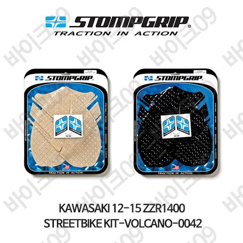 가와사키 12-15 ZZR1400 STREETBIKE KIT-VOLCANO-0042 스텀프 테크스팩 오토바이 니그립 패드