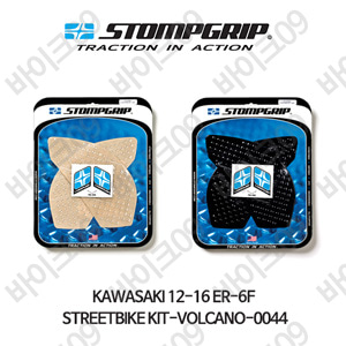 가와사키 12-16 ER-6F STREETBIKE KIT-VOLCANO-0044 스텀프 테크스팩 오토바이 니그립 패드