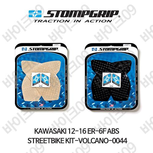 가와사키 12-16 ER-6F ABS STREETBIKE KIT-VOLCANO-0044 스텀프 테크스팩 오토바이 니그립 패드