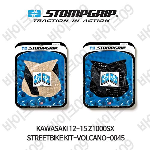 가와사키 12-15 Z1000SX STREETBIKE KIT-VOLCANO-0045 스텀프 테크스팩 오토바이 니그립 패드