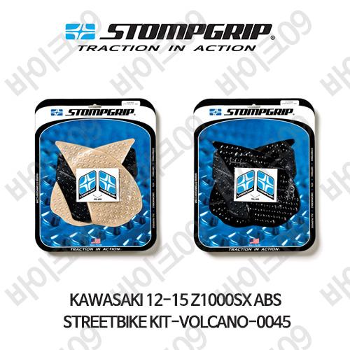 가와사키 12-15 Z1000SX ABS STREETBIKE KIT-VOLCANO-0045 스텀프 테크스팩 오토바이 니그립 패드