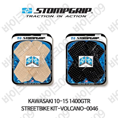 가와사키 10-15 1400GTR STREETBIKE KIT-VOLCANO-0046 스텀프 테크스팩 오토바이 니그립 패드