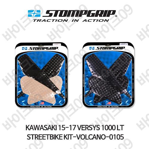 가와사키 15-17 VERSYS 1000 LT STREETBIKE KIT-VOLCANO-0105 스텀프 테크스팩 오토바이 니그립 패드