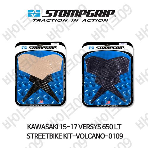 가와사키 15-17 VERSYS 650 LT STREETBIKE KIT-VOLCANO-0109 스텀프 테크스팩 오토바이 니그립 패드