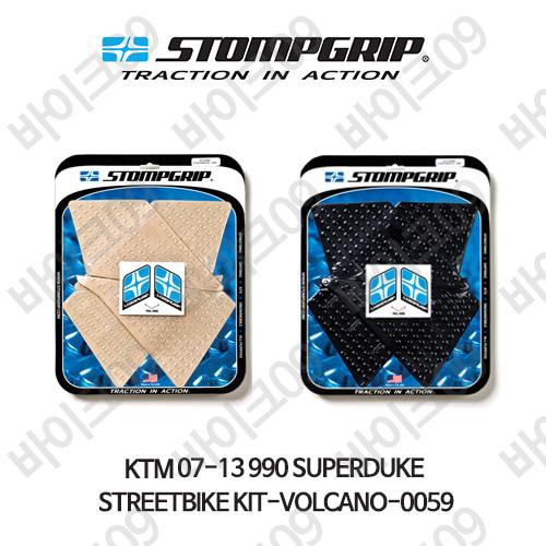 KTM 07-13 990슈퍼듀크 STREETBIKE KIT-VOLCANO-0059 스텀프 테크스팩 오토바이 니그립 패드