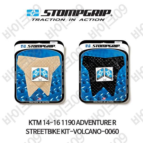KTM 14-16 1190어드벤쳐R STREETBIKE KIT-VOLCANO-0060 스텀프 테크스팩 오토바이 니그립 패드