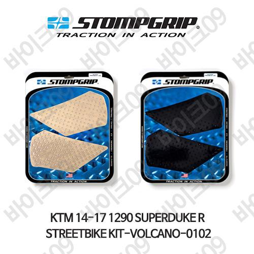 KTM 14-17 1290슈퍼듀크R STREETBIKE KIT-VOLCANO-0102 스텀프 테크스팩 오토바이 니그립 패드