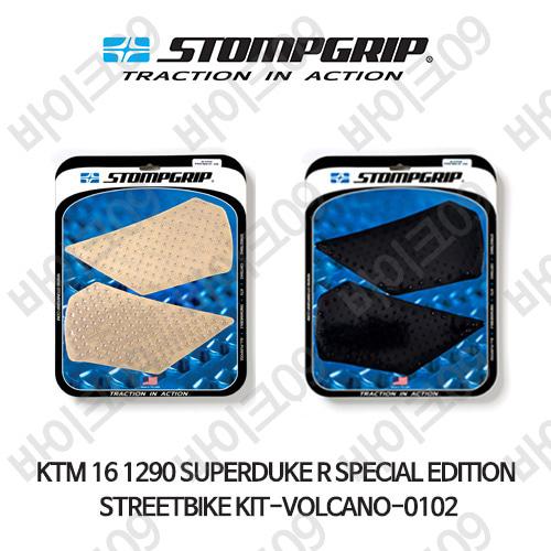 KTM 16 1290슈퍼듀크R SPECIAL EDITION STREETBIKE KIT-VOLCANO-0102 스텀프 테크스팩 오토바이 니그립 패드