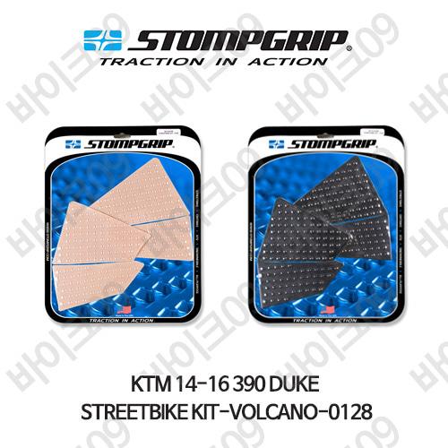 KTM 14-16 390듀크 STREETBIKE KIT-VOLCANO-0128 스텀프 테크스팩 오토바이 니그립 패드