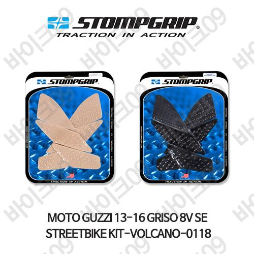모토구찌 13-16 GRISO 8V SE STREETBIKE KIT-VOLCANO-0118 스텀프 테크스팩 오토바이 니그립 패드