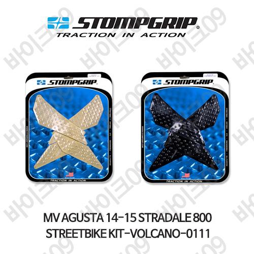 MV아구스타 14-15 스트라달레 800 STREETBIKE KIT-VOLCANO-0111 스텀프 테크스팩 오토바이 니그립 패드