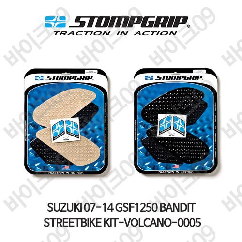 스즈키 07-14 GSF1250 BANDIT STREETBIKE KIT-VOLCANO-0005 스텀프 테크스팩 오토바이 니그립 패드