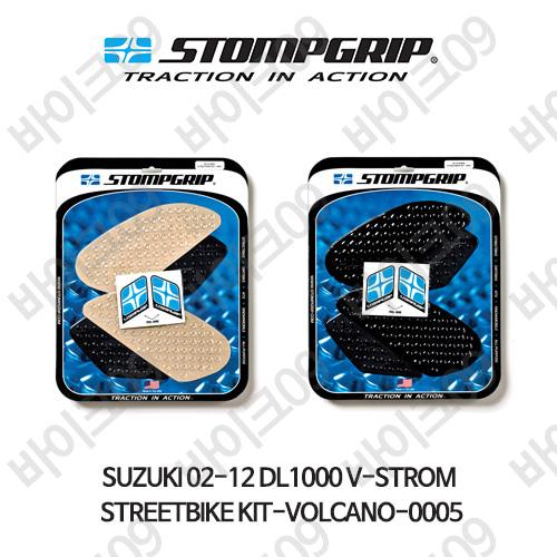 스즈키 02-12 DL1000 V-STROM STREETBIKE KIT-VOLCANO-0005 스텀프 테크스팩 오토바이 니그립 패드