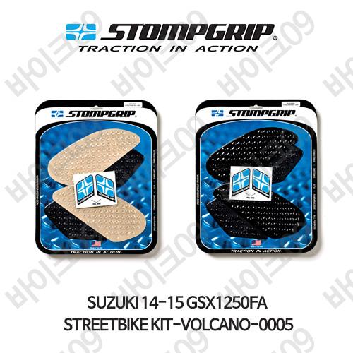 스즈키 14-15 GSX1250FA STREETBIKE KIT-VOLCANO-0005 스텀프 테크스팩 오토바이 니그립 패드