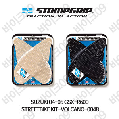 스즈키 04-05 GSX-R600 STREETBIKE KIT-VOLCANO-0048 스텀프 테크스팩 오토바이 니그립 패드