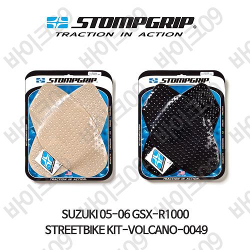 스즈키 05-06 GSX-R1000 STREETBIKE KIT-VOLCANO-0049 스텀프 테크스팩 오토바이 니그립 패드