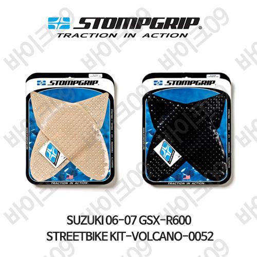 스즈키 06-07 GSX-R600 STREETBIKE KIT-VOLCANO-0052 스텀프 테크스팩 오토바이 니그립 패드