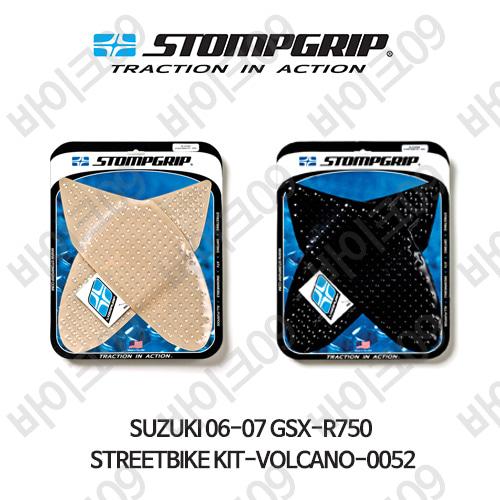 스즈키 06-07 GSX-R750 STREETBIKE KIT-VOLCANO-0052 스텀프 테크스팩 오토바이 니그립 패드