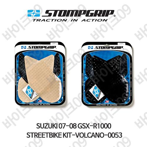 스즈키 07-08 GSX-R1000 STREETBIKE KIT-VOLCANO-0053 스텀프 테크스팩 오토바이 니그립 패드