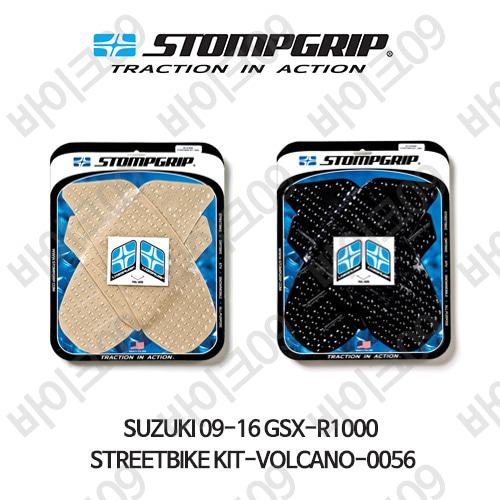 스즈키 09-16 GSX-R1000 STREETBIKE KIT-VOLCANO-0056 스텀프 테크스팩 오토바이 니그립 패드