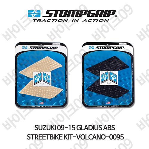스즈키 09-15 GLADIUS ABS STREETBIKE KIT-VOLCANO-0095 스텀프 테크스팩 오토바이 니그립 패드