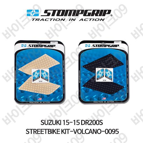 스즈키 15-15 DR200S STREETBIKE KIT-VOLCANO-0095 스텀프 테크스팩 오토바이 니그립 패드