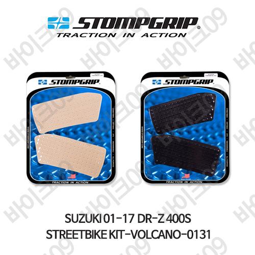 스즈키 01-17 DR-Z 400S STREETBIKE KIT-VOLCANO-0131 스텀프 테크스팩 오토바이 니그립 패드