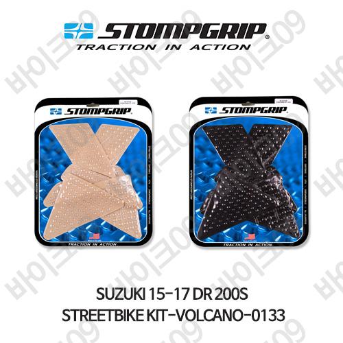스즈키 15-17 DR 200S STREETBIKE KIT-VOLCANO-0133 스텀프 테크스팩 오토바이 니그립 패드