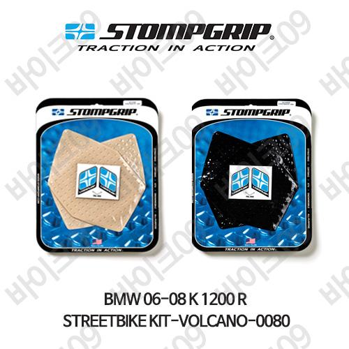 BMW 06-08 K1200R STREETBIKE KIT-VOLCANO-0080 스텀프 테크스팩 오토바이 니그립 패드