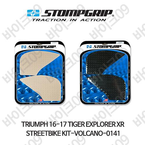 트라이엄프 16-17 타이거 익스플로러XR STREETBIKE KIT-VOLCANO-0141 스텀프 테크스팩 오토바이 니그립 패드