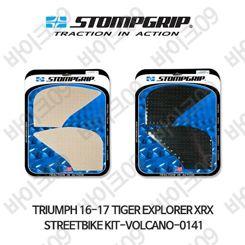 트라이엄프 16-17 타이거 익스플로러XRX STREETBIKE KIT-VOLCANO-0141 스텀프 테크스팩 오토바이 니그립 패드