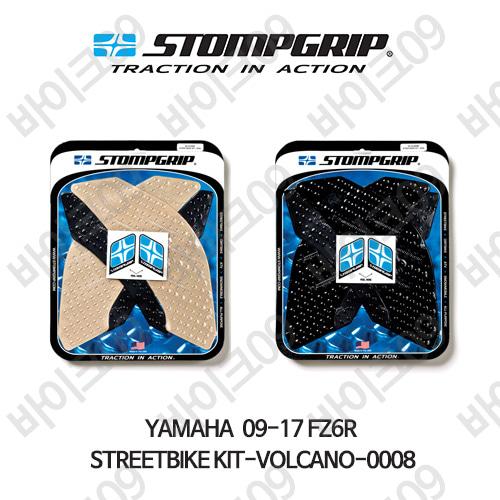 야마하 09-17 FZ6R STREETBIKE KIT-VOLCANO-0008 스텀프 테크스팩 오토바이 니그립 패드