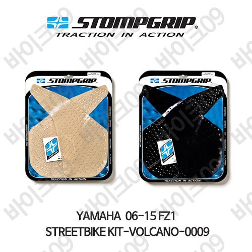 야마하 06-15 FZ1 STREETBIKE KIT-VOLCANO-0009 스텀프 테크스팩 오토바이 니그립 패드