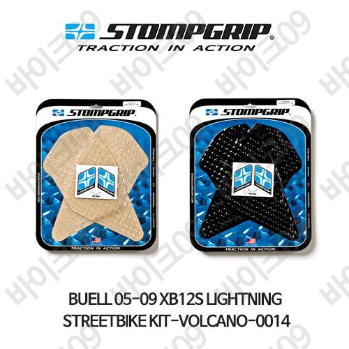 BUELL 05-09 XB12S LIGHTNING STREETBIKE KIT-VOLCANO-0014 스텀프 테크스팩 오토바이 니그립 패드